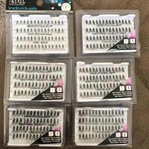 Ardell long black individuals volume lashes